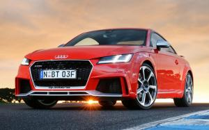 Audi TT RS Coupe 2017 года (AU)