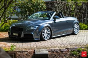 2017 Audi TT Roadster on Vossen Wheels (VFS1)