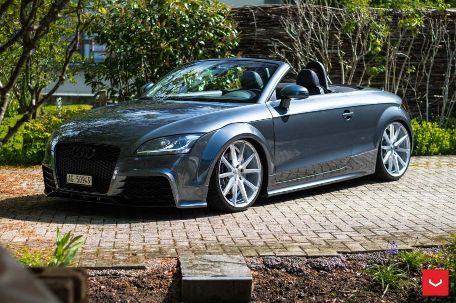 Audi TT Roadster on Vossen Wheels (VFS1)