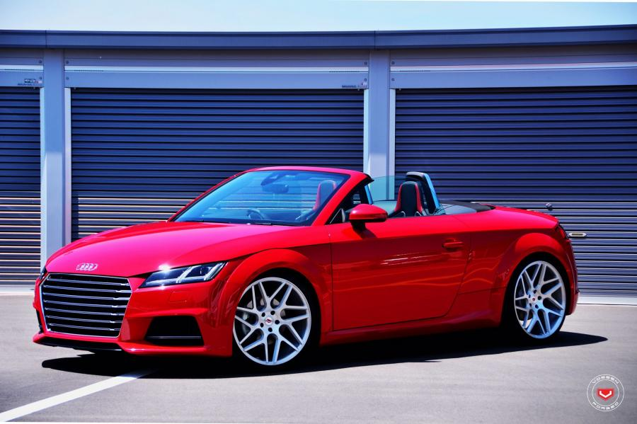 Audi TT Roadster on Vossen Wheels (VPS-315T)