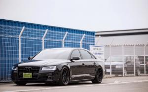 2018 Audi A8 L W12 Quattro by Lager Corporation on ADV.1 Wheels (ADV5.2 TRACK SPEC)