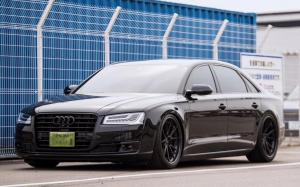 Audi A8 L W12 Quattro by Lager Corporation on ADV.1 Wheels (ADV5.2 TRACK SPEC) 2018 года