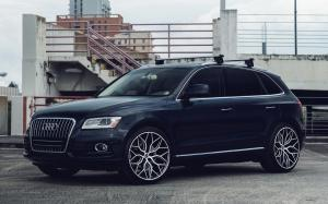 2018 Audi Q5 2.0T Quattro on Vossen Wheels (HF-2)