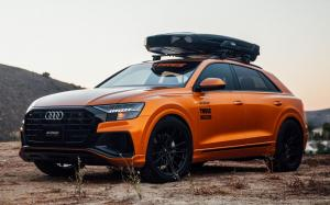 Audi Q8 55 TFSI Quattro S-Line on Vossen Wheels (M-X6) 2018 года