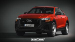 Audi Q8 Base Spec by X-Tomi Design 2018 года