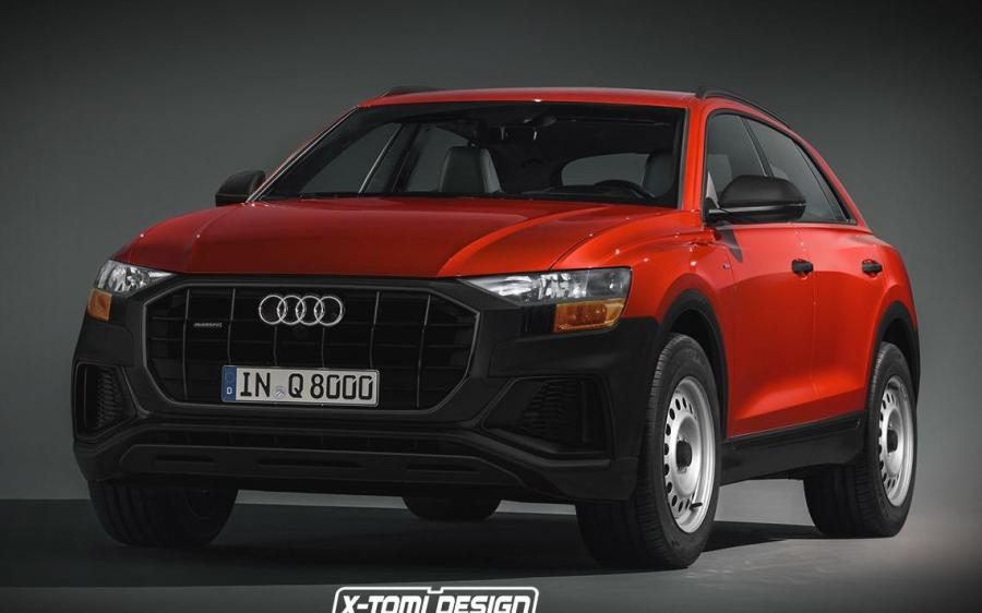 Audi Q8 Base Spec by X-Tomi Design