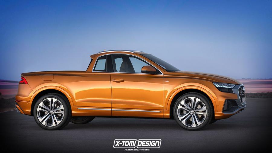 Audi Q8 Pickup by X-Tomi Design