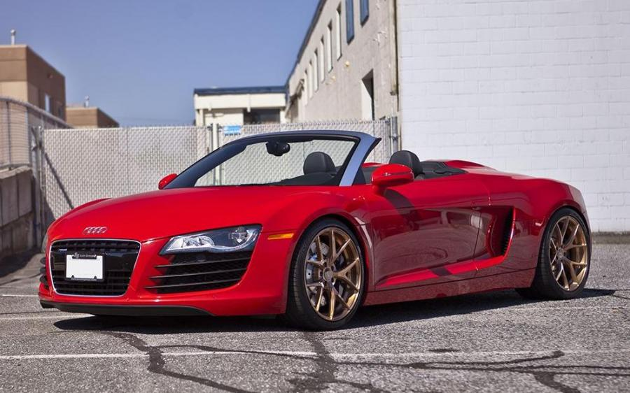 2018 Audi R8 Spyder by SR Auto Group on PUR Wheels (PUR FL04)
