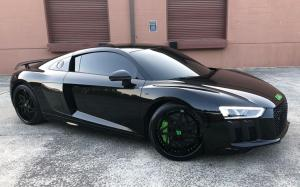 Audi R8 V10 on Forgiato Wheels (Finestro) 2018 года
