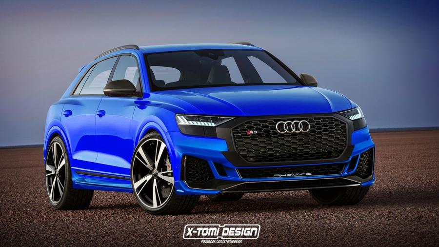 Audi RS Q8 by X-Tomi Design
