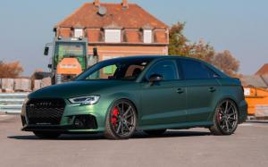 Audi RS3 Sedan on Vossen Wheels (VPS-301) 2018 года