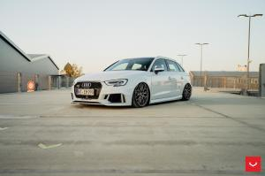 Audi RS3 Sportback on Vossen Wheels (HF-2) 2018 года