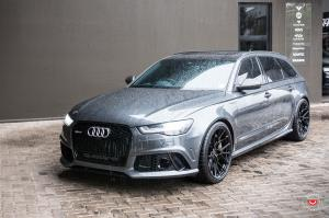 Audi RS6 Avant by RACE! on Vossen Wheels (M-X3) 2018 года