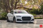 Audi S5 Sedan by TAG Motorsports on Vossen Wheels (HF-2) 2018 года