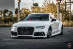 Audi S7 Sportback by EastSide Motoring on Vossen Wheels (M-X1) 2018 года