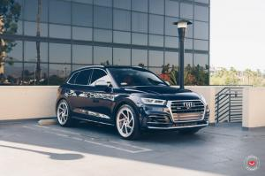 Audi SQ5 3.0 TFSI by Pacific German on Vossen Wheels (LC-108T) 2018 года