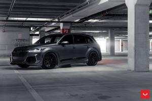 Audi SQ7 by ABT on Vossen Wheels (HF-2) 2018 года