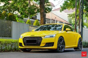 Audi TT Coupe by Permaisuri on Vossen Wheels (HF-1) 2018 года