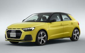 2019 Audi A1 Sportback 35 TFSI Advanced (JP)