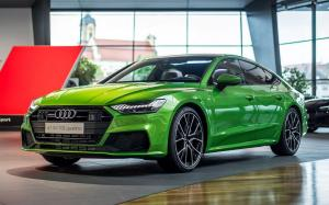 2019 Audi A7 Sportback 50 TDI Quattro Java Green by Audi Exclusive