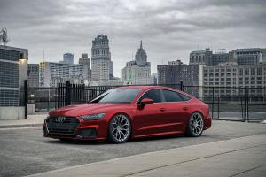 2019 Audi A7 Sportback 55 TFSI Quattro S-Line on Forgiato Wheels (Drea-M)