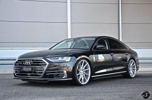 2019 Audi A8 55 TFSI Quattro by DS Automobile on Vossen Wheels