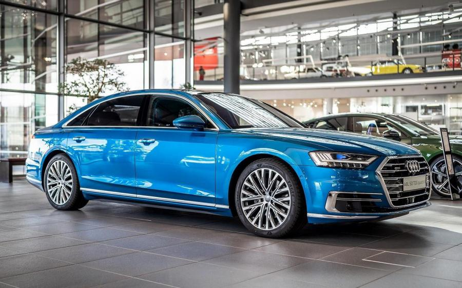 2019 Audi A8L 55 TFSI Quattro by Audi Exclusive