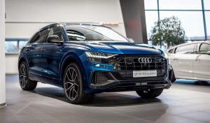 Audi Q8 50 TDI Quattro Galaxy Blue by Audi Exclusive 2019 года