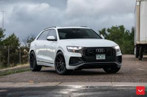 2019 Audi Q8 55 TFSI Quattro on Vossen Wheels (HF-3)