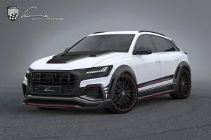 2019 Audi Q8 CLR 8S by Lumma Design