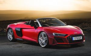 Audi R8 V10 Performance Spyder 2019 года (UK)
