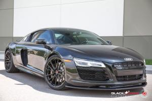 2019 Audi R8 V10 by Black Star on Vossen Wheels (M-X4T)