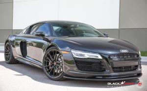 Audi R8 V10 by Black Star on Vossen Wheels (M-X4T) 2019 года