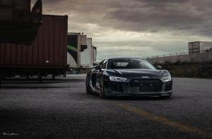 2019 Audi R8 V10 by Vorsteiner on Brixton Forged Wheels (VL4 Duo)