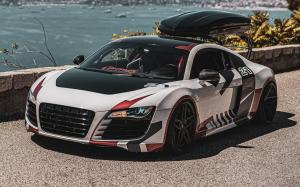 Audi R8 on Vossen Wheels (HC-2) 2019 года
