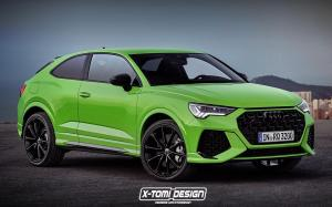 Audi RS Q3 Coupe by X-Tomi Design 2019 года