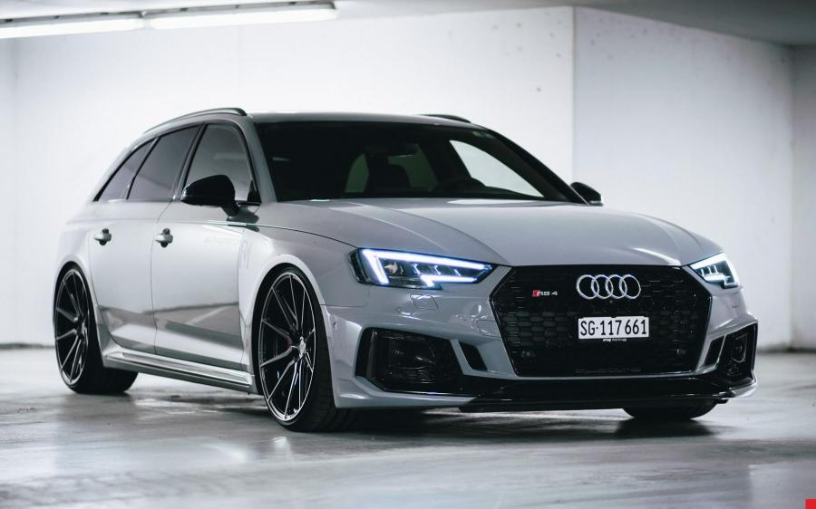 2019 Audi RS4 Avant by RM-Autopflege on Vossen Wheels (HF-3)