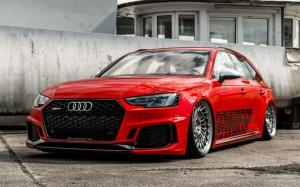 Audi RS4 Avant on Vossen Wheels (ML-R2)