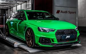 2019 Audi RS4+ Gloss Green by ABT