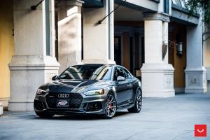 Audi RS5 Coupe on Vossen Wheels (VFS-6) 2019 года