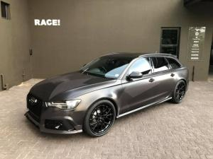 Audi RS6 Avant by RACE! on Vossen Wheels 2019 года