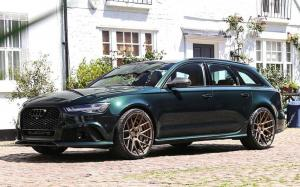 2019 Audi RS6 Avant on ADV.1 Wheels (ADV7 M.V2 SL)