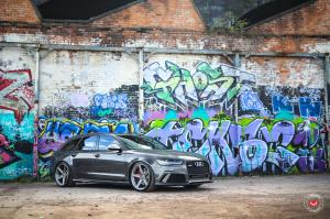 Audi RS6 Avant on Vossen Wheels (M-X5) 2019 года