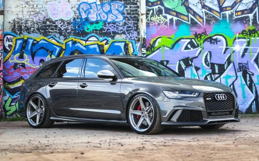 2019 Audi RS6 Avant on Vossen Wheels (M-X5)