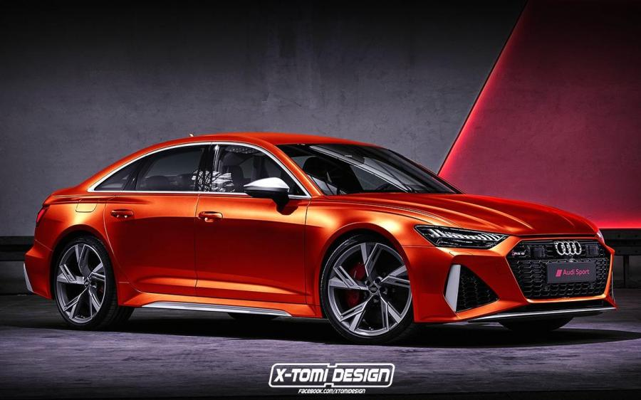 2019 Audi RS6 Sedan by X-Tomi Design