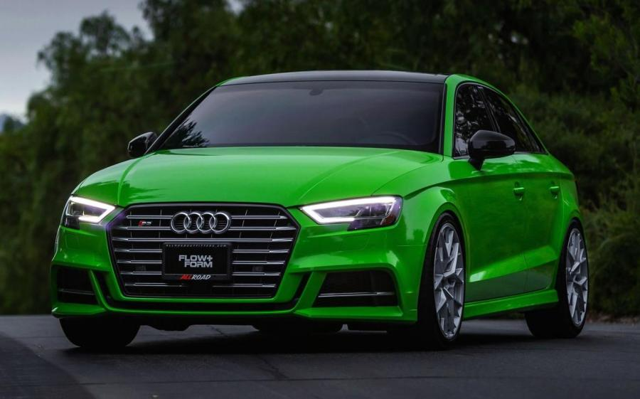 2019 Audi S3 Sedan on HRE Wheels (FF10)