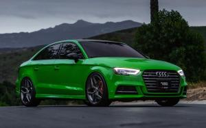 2019 Audi S3 Sedan on HRE Wheels (FF11)
