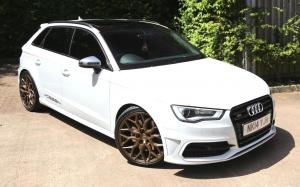 2019 Audi S3 Sportback on Vossen Wheels (HF-2)