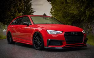 Audi S4 Avant on Vossen Wheels (VFS-2)