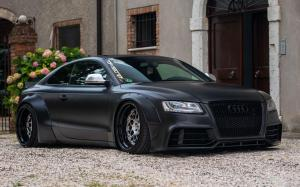 Audi S5 Coupe by Liberty Walk on Vossen Wheels (ERA-4) 2019 года